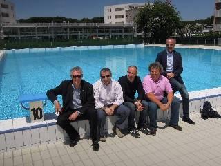 Stadio del Nuoto, visita ai nuovi impianti sportivi per il Mondiale Master