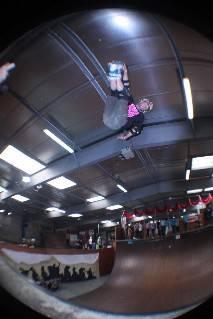 Pattinaggio acrobatico. Davide Giannoni al Chewits Xtreme Inline Open