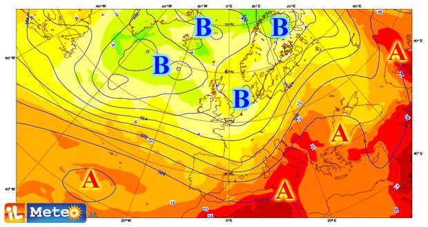 Fino a metà mese instabile al Nord. Sole e caldo al Centrosud e isole.
