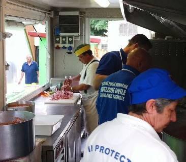 I ristoratori di CNA domenica a Cavezzo per offrire il pranzo a 2.300 persone