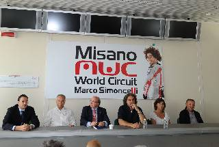 Da questa mattina il circuito di Misano è intitolato a Marco Simoncelli