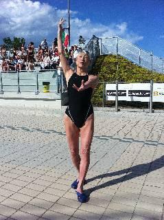 Riccione Fina World Masters. Marione De Giampetro non tradisce: bronzo