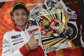 Rossi e De Angelis presentano il poster ufficiale 2012 del Gp di Misano