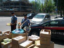 Migliaia di giocattoli sequestrati in un negozio cinese di via Rimembranze