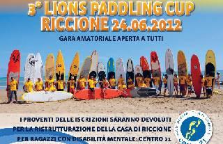 Domenica al Vela Club Marano la 3a Lions Paddling Cup Riccione