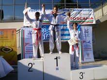 Taekwondo. Ginevra Graf oro al Campionato interregionale comitato Toscana