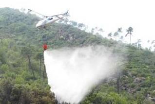 Incendi boschivi, al via fase attenzione. Un elicottero di stanza a Rimini