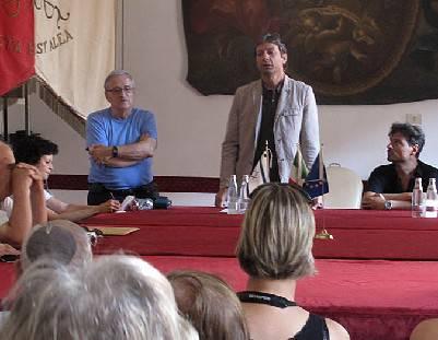 Il sindaco riceve delegazione israeliana in viaggio culturale in Emilia Romagna