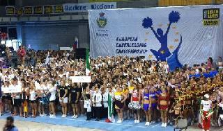 Circa 15mila presenze per i primi Campionati Europei di Cheerleading a Riccione