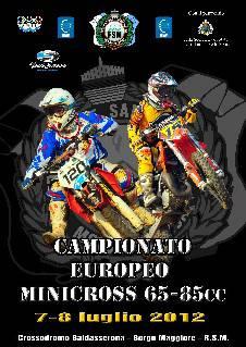 Europeo di minicross 65 e 85 cc a San Marino