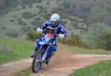 Alex Zanotti cade mentre è in testa alla gara del Campionato Italiano Motorally