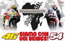 Tanzania in Lambretta al Mugello per la Moto GP