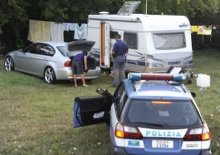 Sgomberi per carovane nomadi: a Santarcangelo e ancora Casa Pomposa