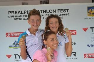Triathlon. Luisa Iogna Prat bronzo nella prova Youth B femminile