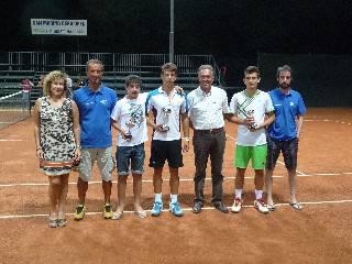 A Michele Giannoni il torneo di 4° del Circolo Tennis Cast