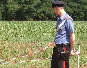 In un campo a S. Aquilina spunta ordigno bellico. Terreno messo in sicurezza