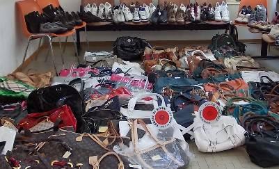 Parco Pertini Rivazzurra, nuovo controllo. Trovate borse e scarpe contraffatte