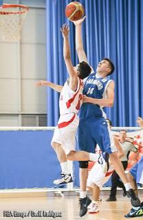 Basket. Campionati Europei Under 16: San Marino-Scozia 32-72