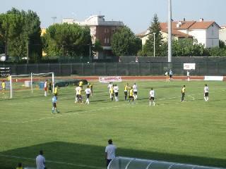Il Santarcangelo sconfitto in amichevole dal Cesena (1-3)
