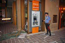 60mila euro il bottino del furto al Bancomat. ingenti i danni