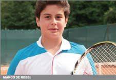 Al San Marino Cepu Open in campo  anche il 16enne sammarinese De Rossi