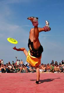 Si chiuderà domenica a Riccione il Mondiale FPA di Frisbee Freestyle