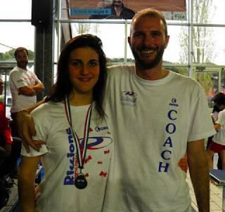 Nuoto. Sharon Spimi 4a nei 400 misti Junior agli Italiani di Categoria
