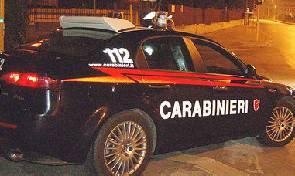 Un arresto dei Carabinieri per sequestro e lesioni a fidanzata