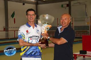 Bocce. Mirko Campanari vince il 2° Memorial Duilio Fuzzi