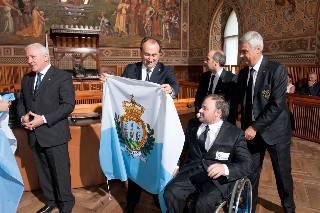 Paralimpiadi: la delegazione sammarinese è partita per Londra