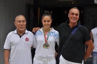Karate. Giulia Olivi e Mauro Giorgio d'oro agli Internazionali Open di Lignano
