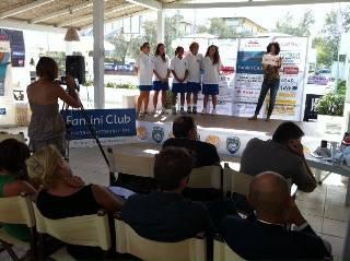 Volley B2 donne. La presentazione del Cervia Volley-Team Scozzoli