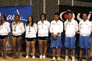 La pioggia non ferma il Campionato Europeo di Beach Tennis