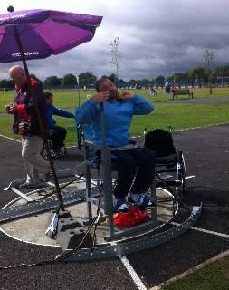 Paralimpiadi: nel getto del peso Christian Bernardi si ferma a 4,54 metri