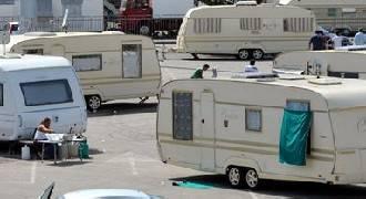 Campo nomadi abusivo sgomberato dai Carabinieri a Rimini Nord