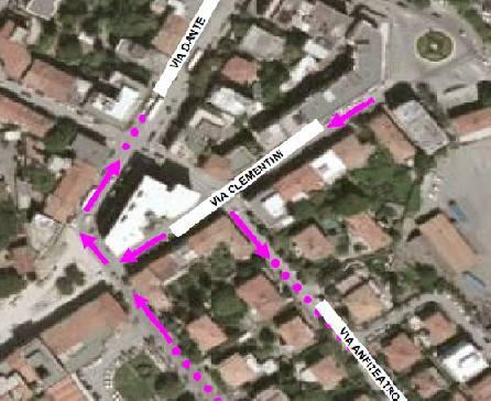 Via Casteldifardo off limits per i bus. Da domenica le limitazioni