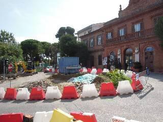Nuova rotatoria davanti al Ceccarini. La Soprintendenza si congratula