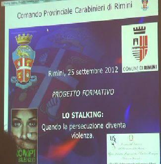 I Carabinieri a scuola contro lo stalking