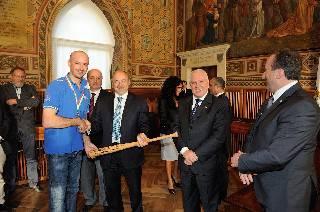 Baseball. La T&A San Marino ricevuta dai Capitani Reggenti