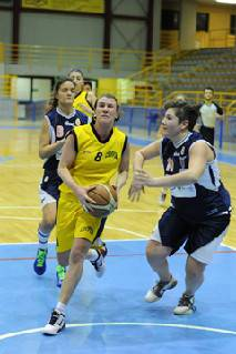 B donne. Valtarese Borgotaro-Basket Cervia 63-50