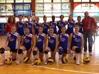 Il Viserba Volley Rimini A campione provinciale Under 14 Femminile