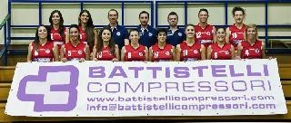 B1 donne. Stampiitalia Casette-Battistelli Viserba Volley Rimini 3-1
