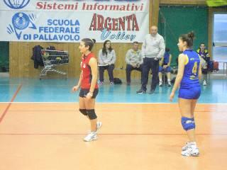 C donne. Argenta-Caf Acli Stella Rimini 0-3