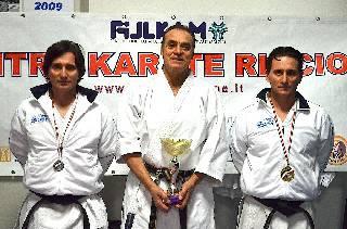 Karate. I gemelli Giorgio oro e argento nel kata agli Italiani Master
