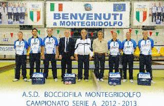 Bocce A. Cacciatori Salerno-Utensiltecnica Montegridolfo 0-1