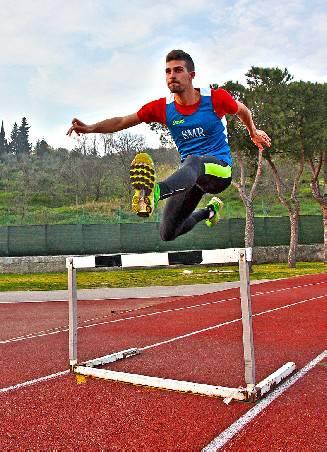 Per Andrea Ercolani Volta il nuovo record sammarinese assoluto dei 400 ostacoli