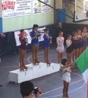 Pattinaggio. Giulia Colombari medaglia di bronzo agli Italiani Uisp di artistico