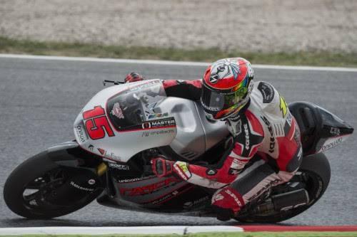 Moto2. Si chiude con una scivolata il Gp di Catalunya per De Angelis