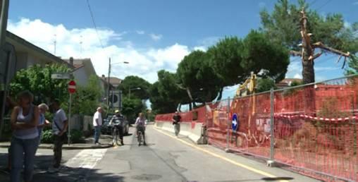 TRC, via i pini in via Portovenere e subito scatta la mobilitazione