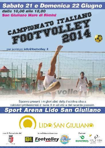 Il Campionato Italiano FootVolley fa tappa a San Giuliano